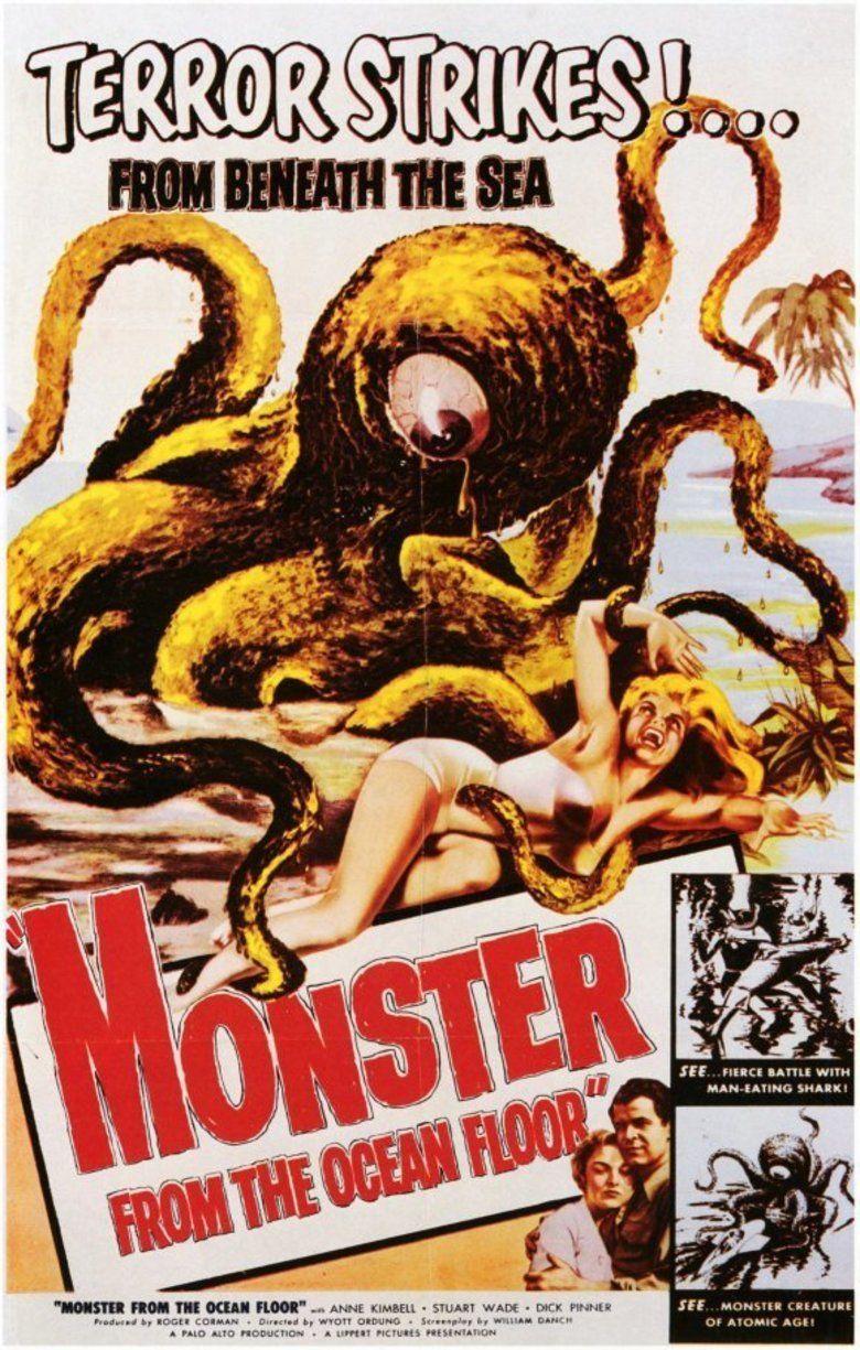 Monster from the Ocean Floor movie poster