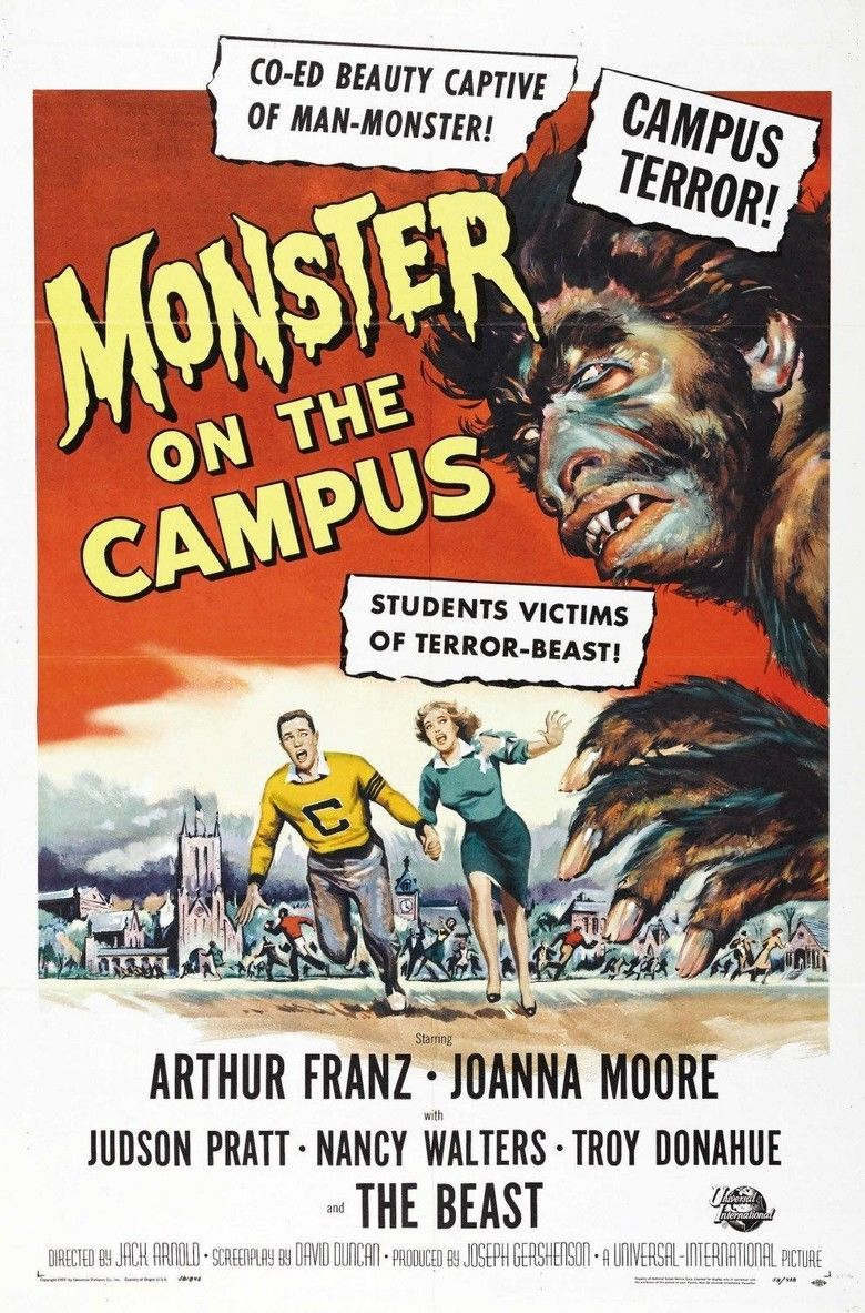Monster on the Campus movie poster
