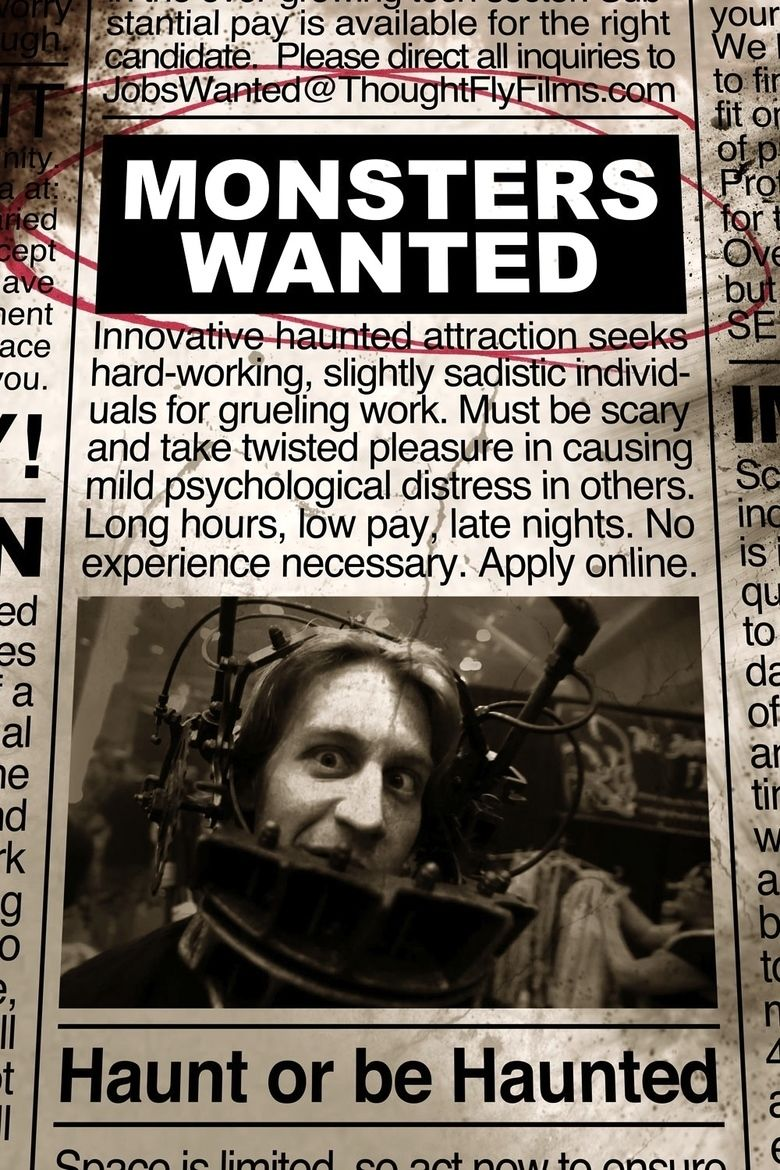 Monsters Wanted movie poster
