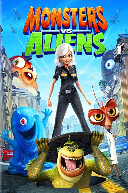 Monsters vs Aliens movie poster
