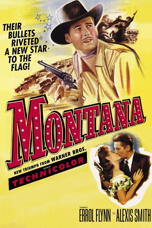 Montana (1950 film) movie poster