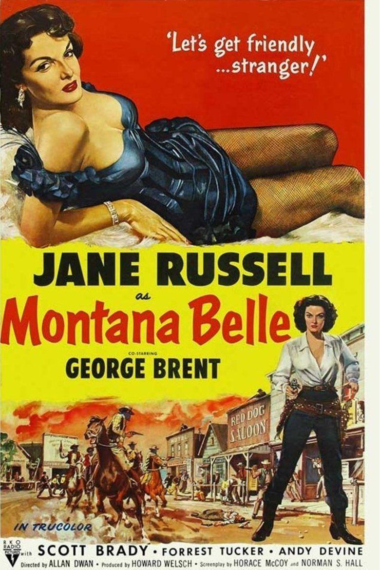 Montana Belle movie poster
