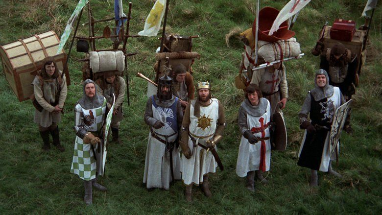 Monty Python and the Holy Grail movie scenes