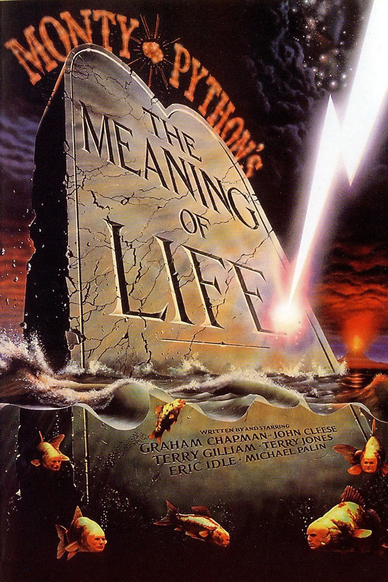 Graham Chapman USA NEW Monty Python/'s The Meaning of Life Movie POSTER 11 x 17