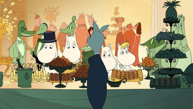 Moomins on the Riviera movie scenes