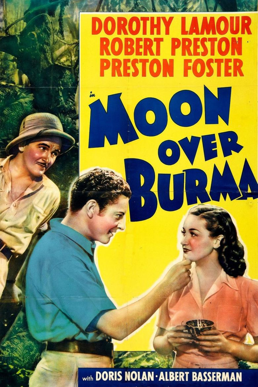 Moon Over Burma movie poster