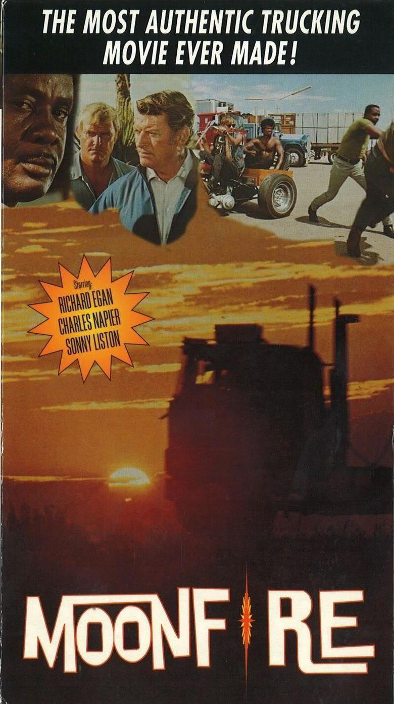 Moonfire (1973 film) movie poster