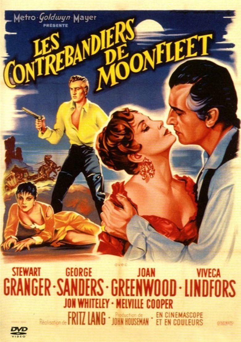 Moonfleet (1955 film) movie poster