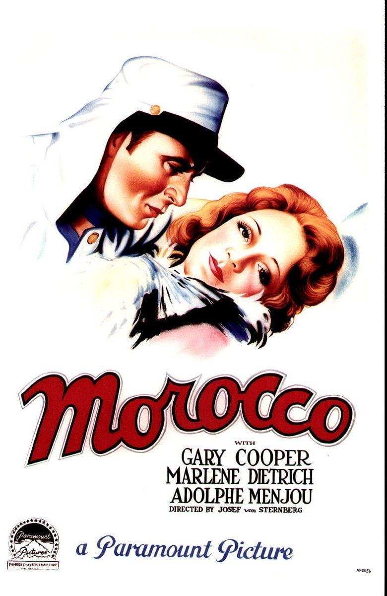 Morocco (film) movie poster