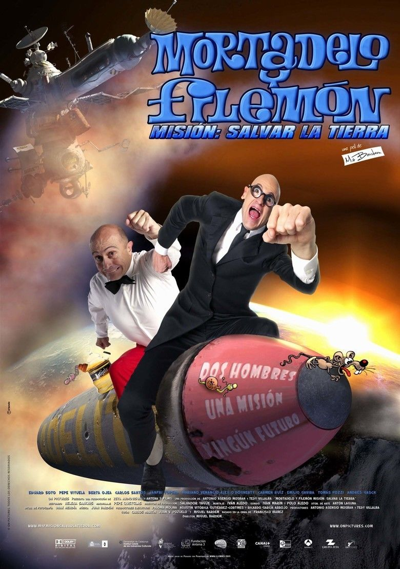 Mortadelo and Filemon Mission: Save the Planet movie poster