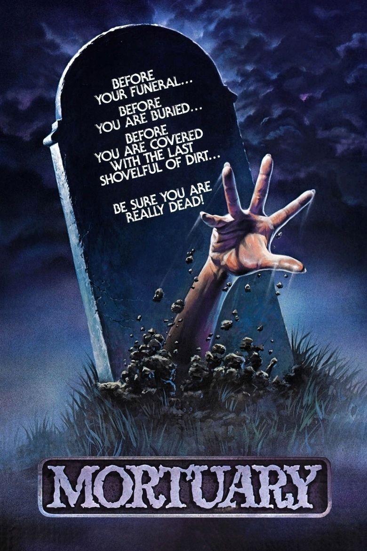 Mortuary (1983 American film) movie poster