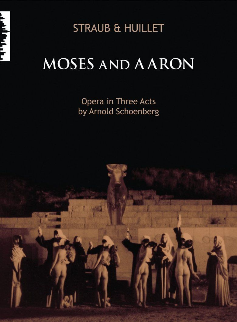 Moses und Aron (film) movie poster