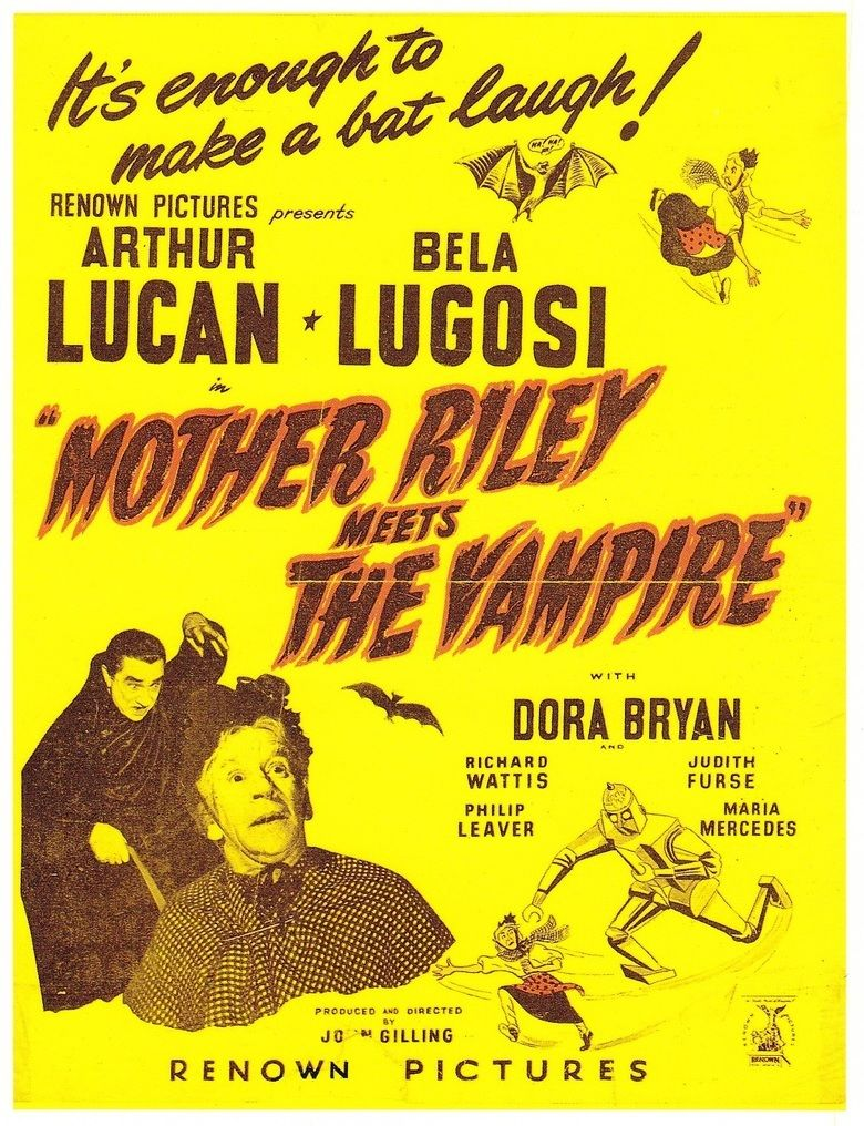 Mother Riley Meets the Vampire movie poster