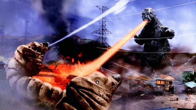 Mothra vs Godzilla movie scenes