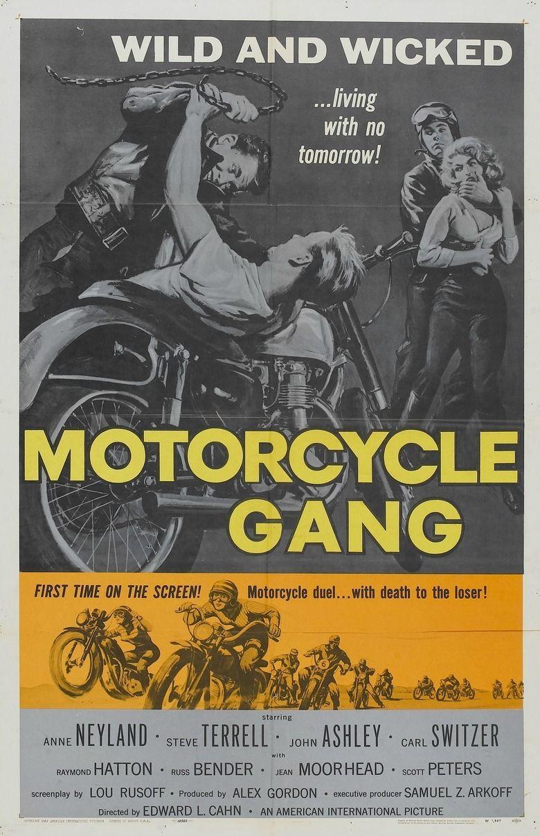 Motorcycle Gang (film) movie poster