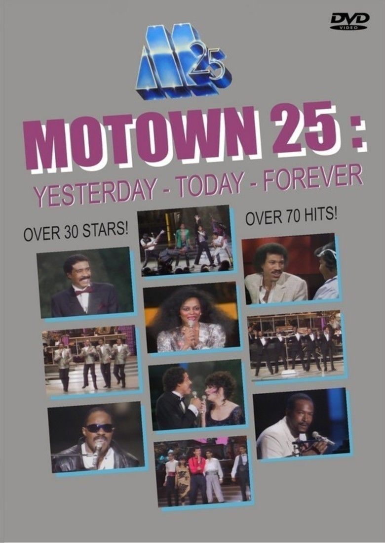 Motown 25: Yesterday, Today, Forever movie poster