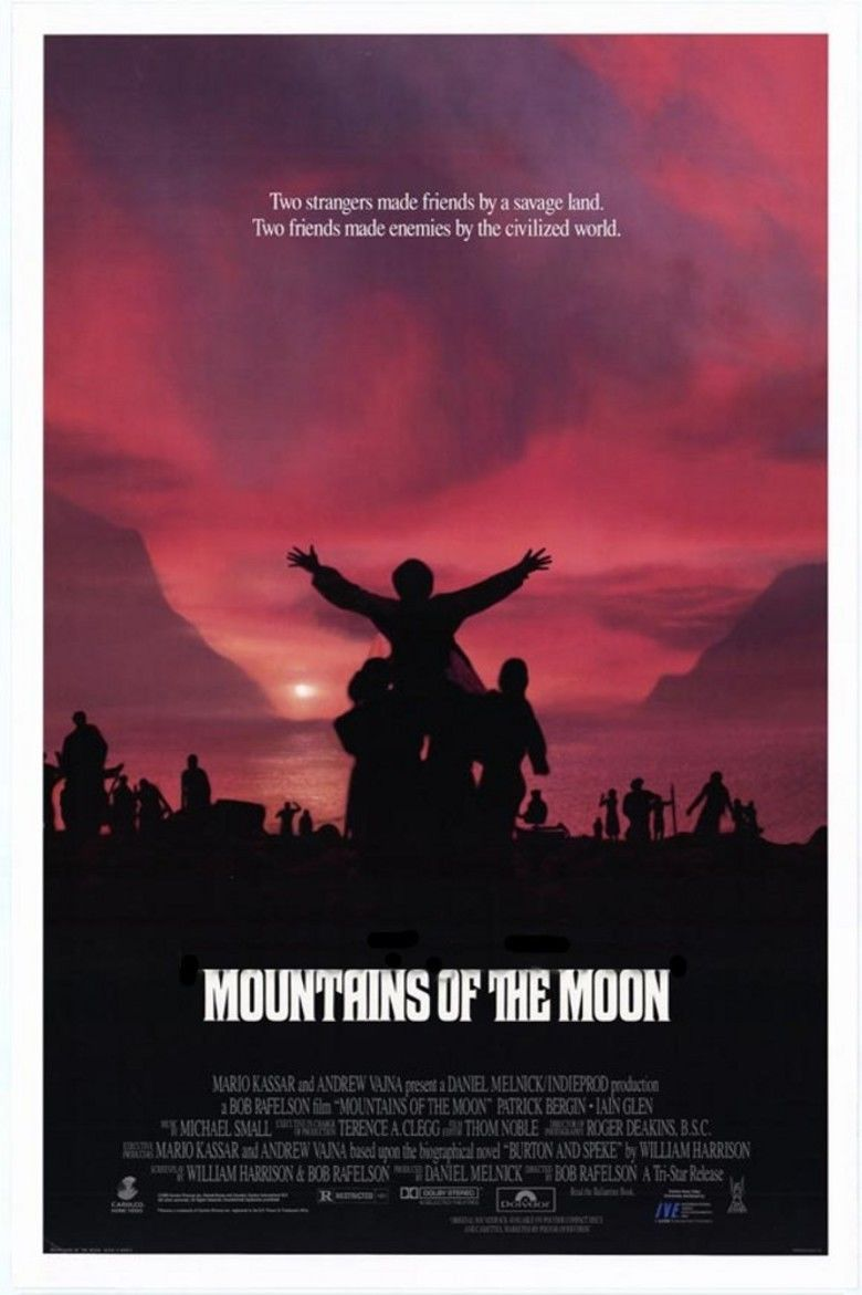 Mountains of the Moon (film) movie poster