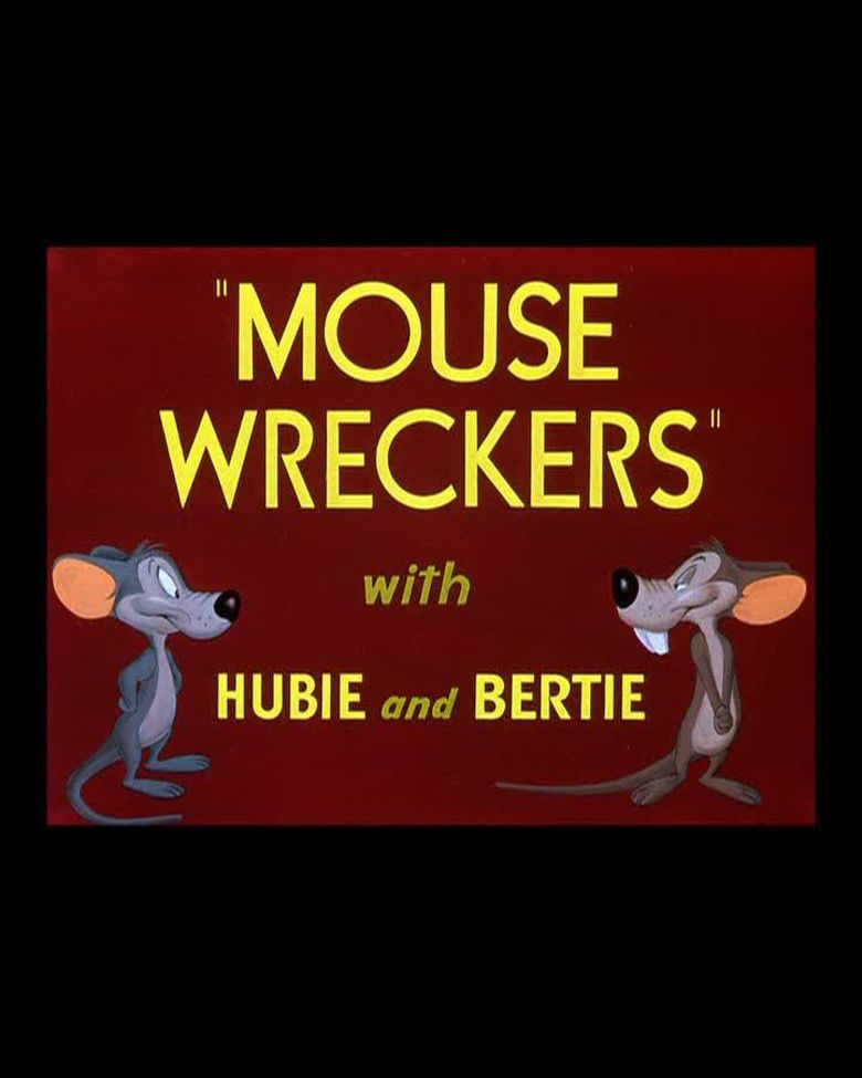 Mouse Wreckers movie poster