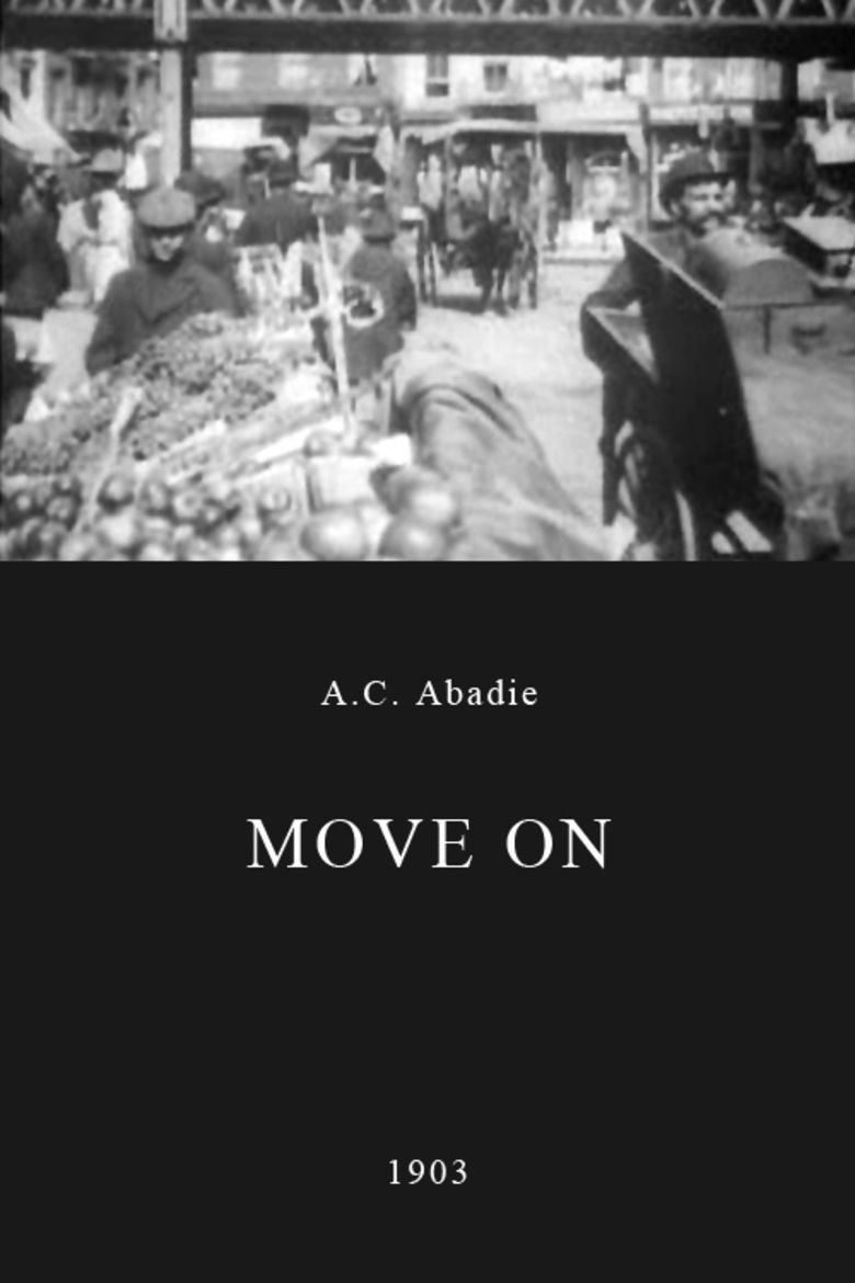 Move On (1903 film) movie poster