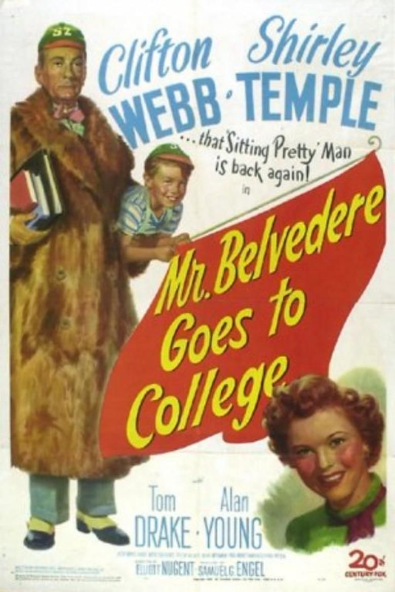Mr Belvedere Goes to College movie poster