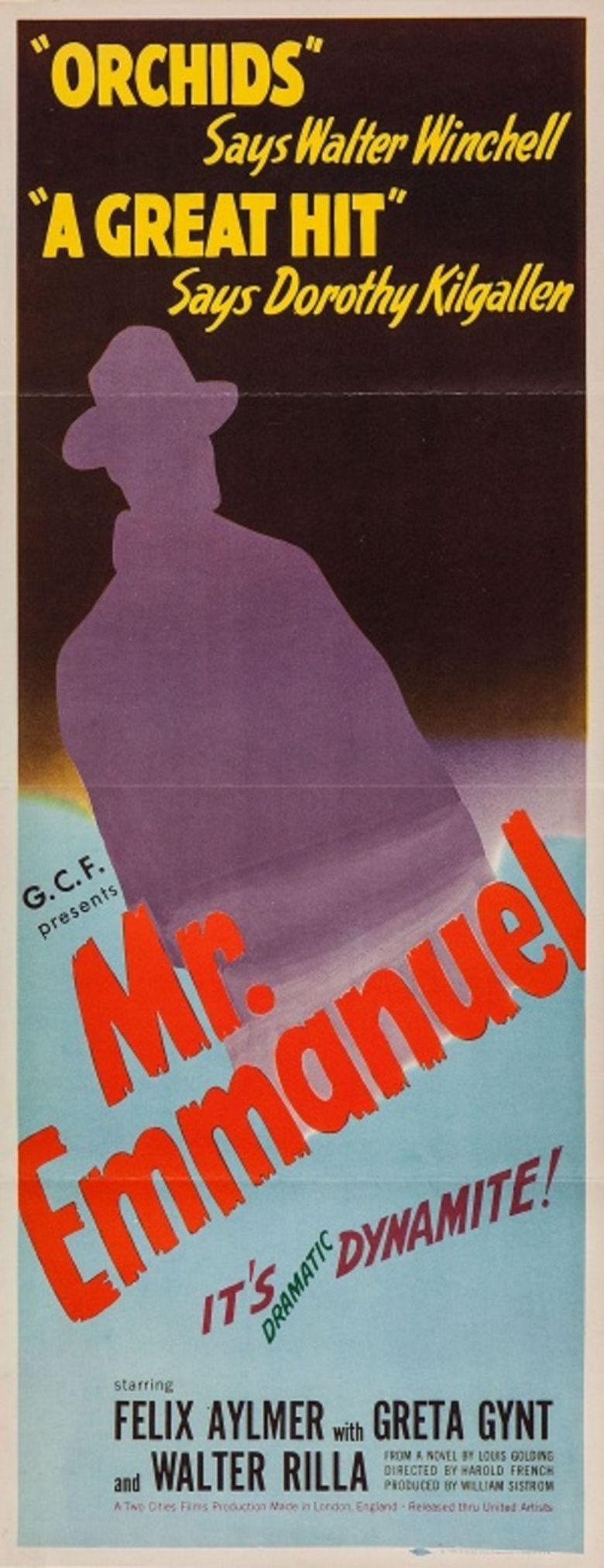 Mr Emmanuel movie poster