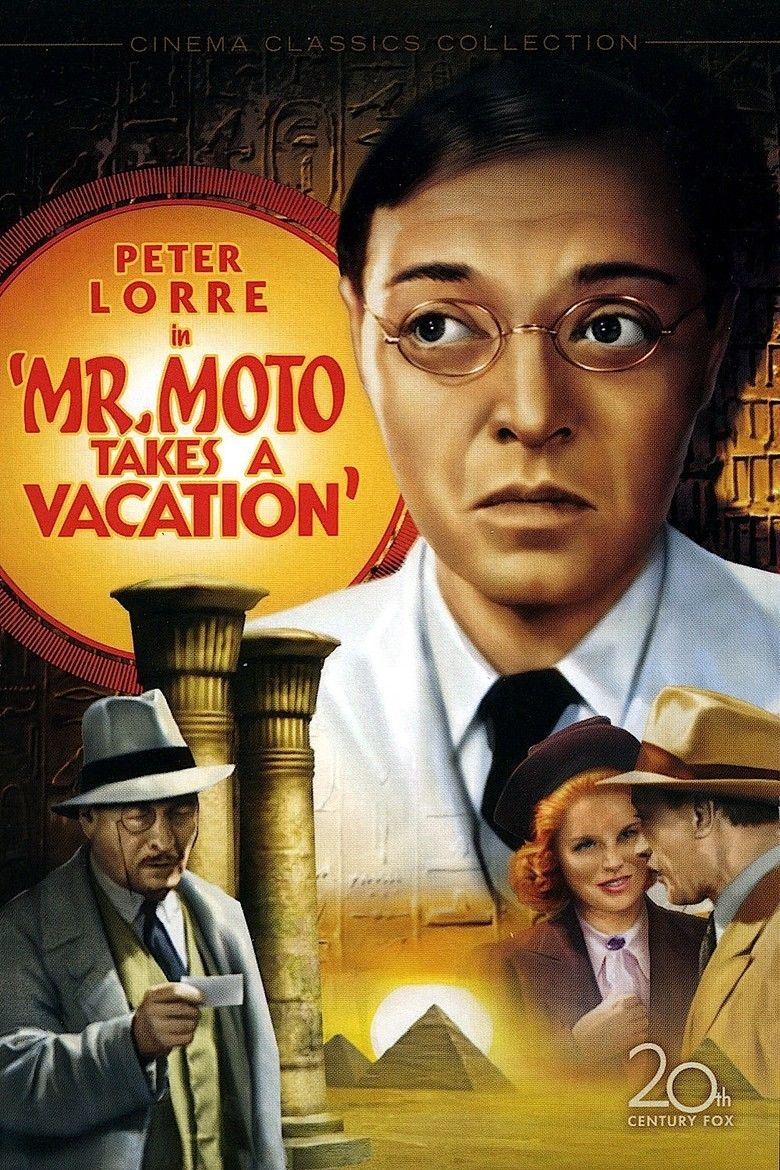 Mr Moto Takes a Vacation movie poster