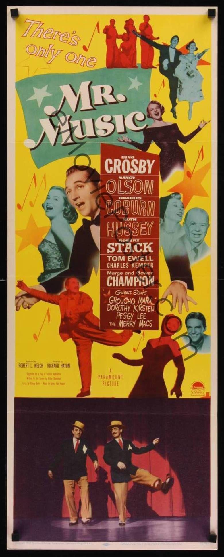 Mr Music movie poster