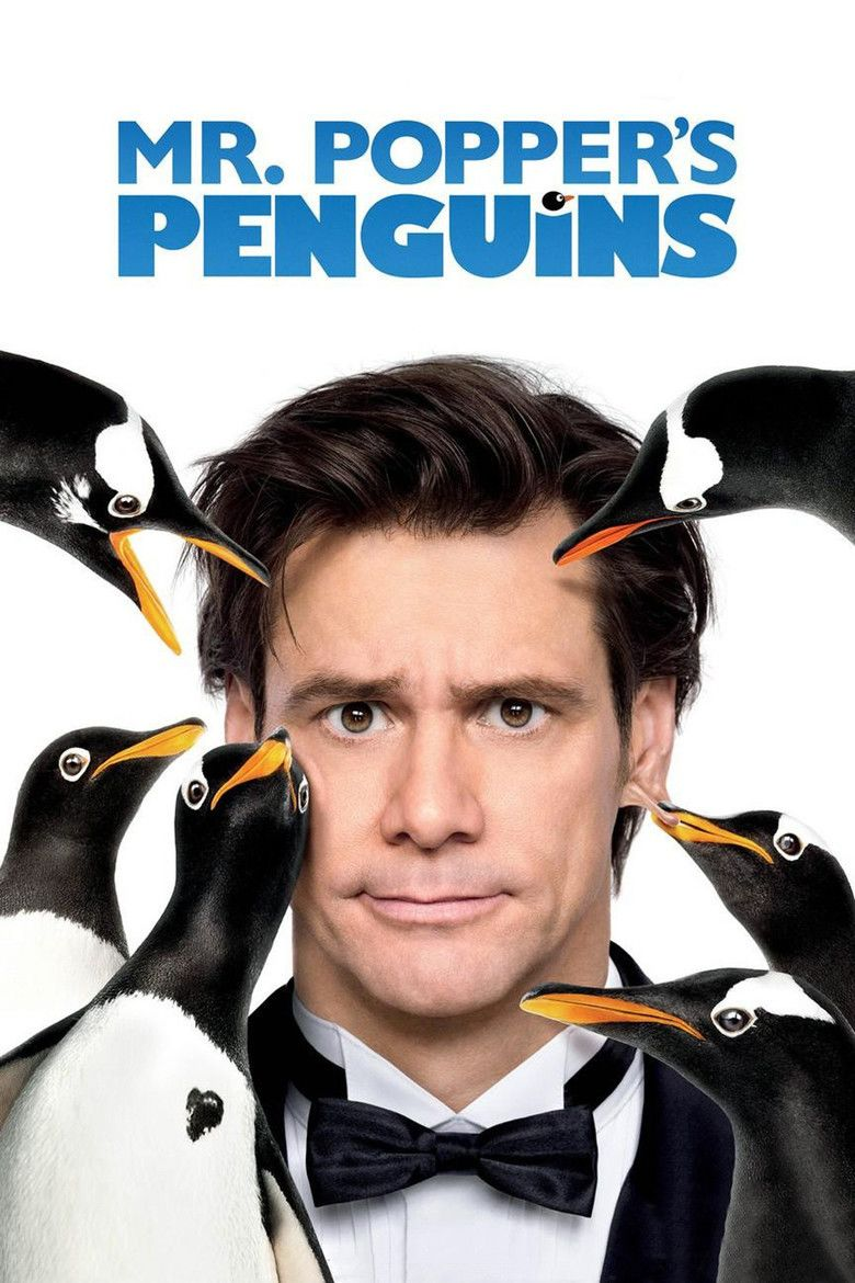 Mr Poppers Penguins (film) movie poster