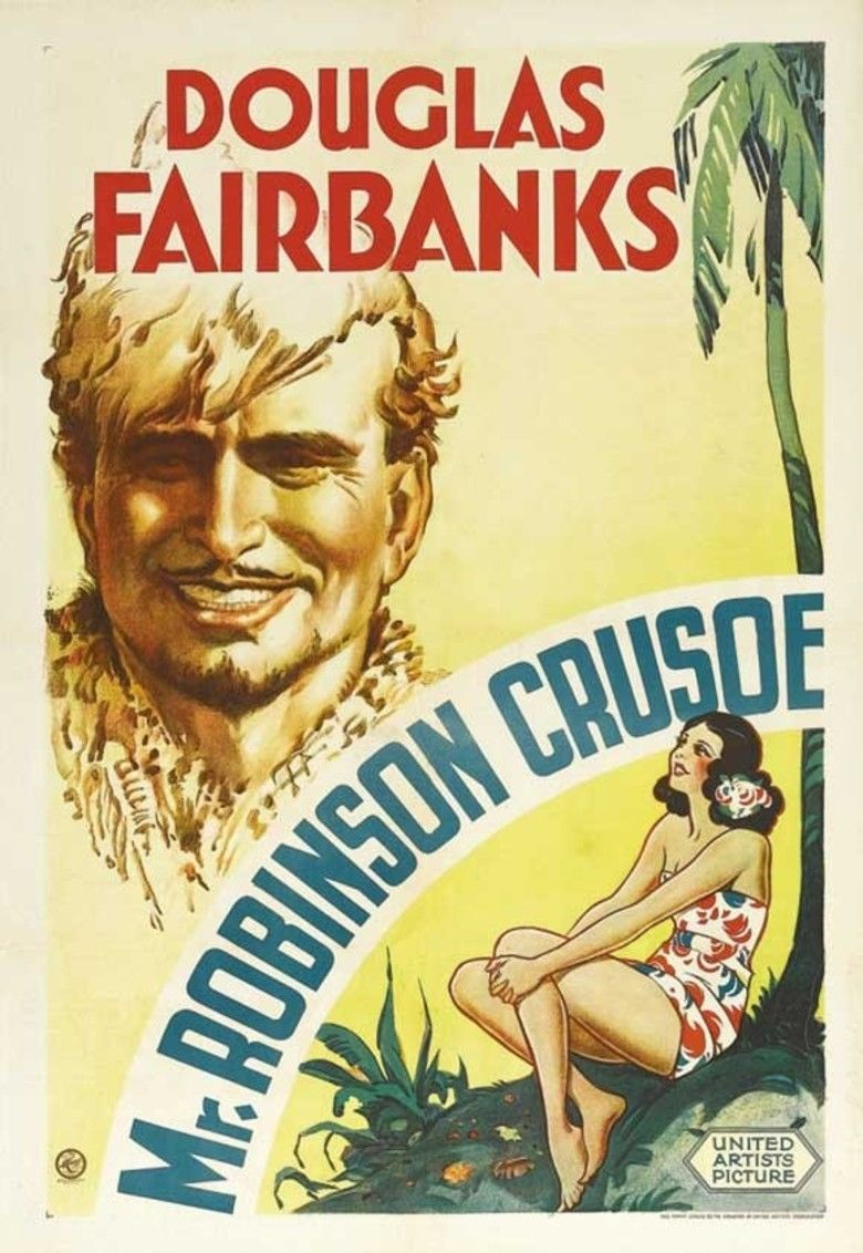 Mr Robinson Crusoe movie poster