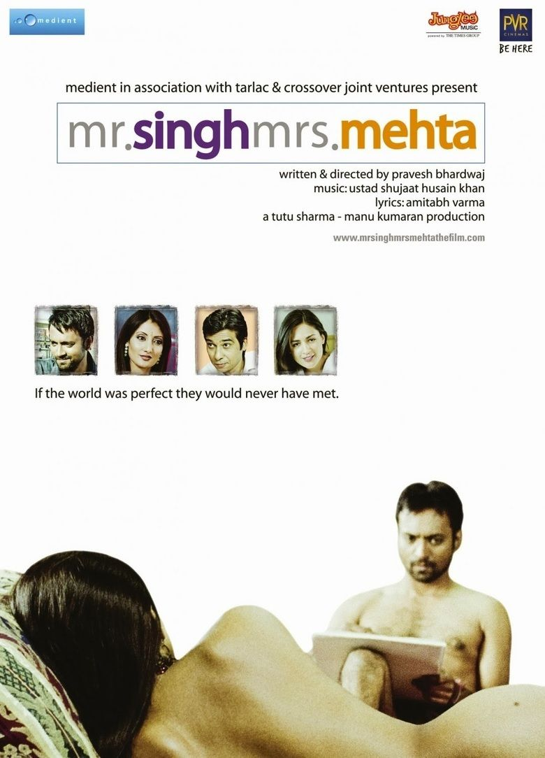 Mr Singh Mrs Mehta movie poster