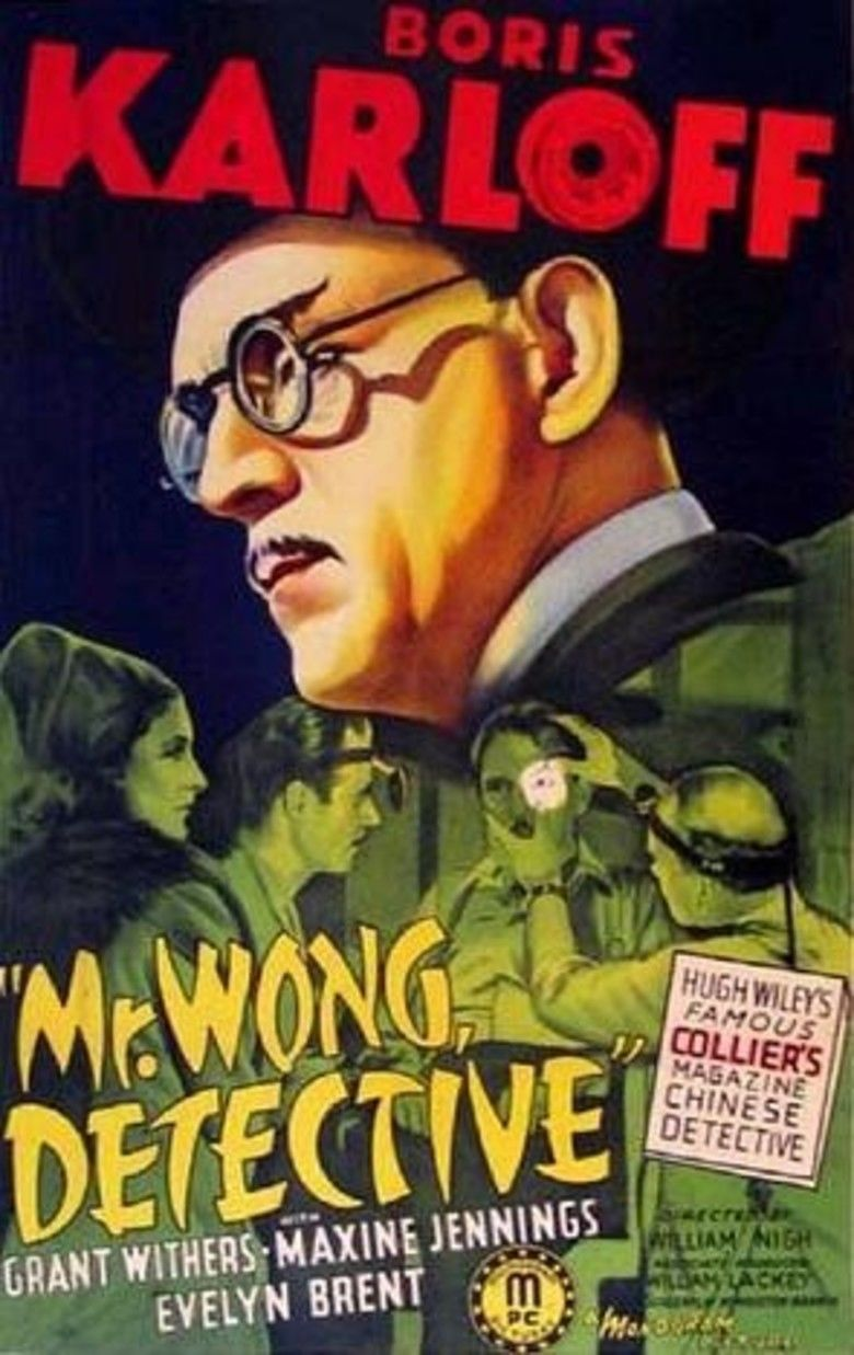 Mr Wong, Detective movie poster