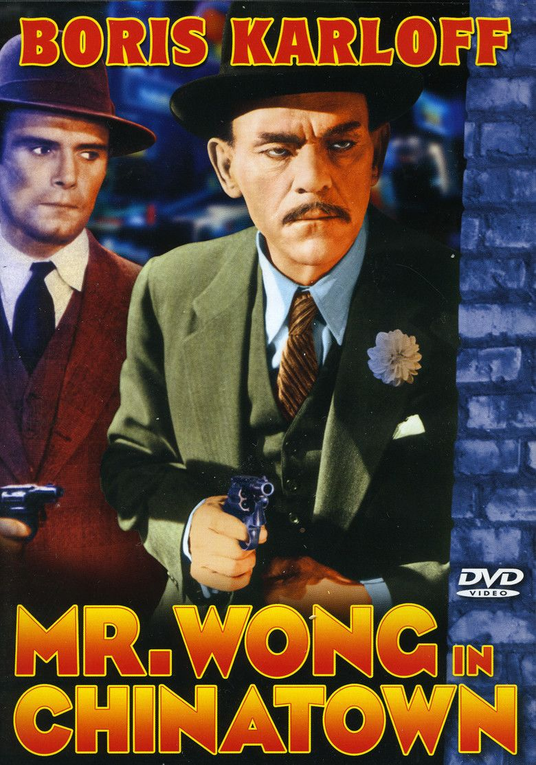 Mr Wong in Chinatown movie poster