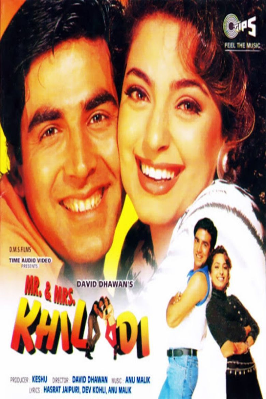 Mr and Mrs Khiladi movie poster