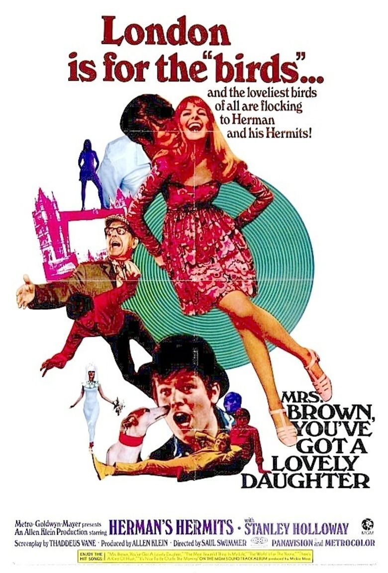 Mrs Brown, Youve Got a Lovely Daughter (film) movie poster
