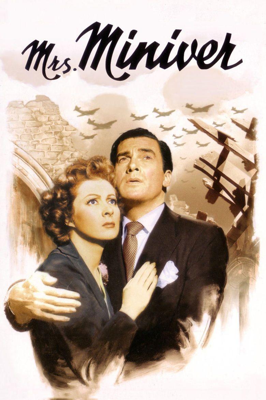 Mrs Miniver (film) movie poster
