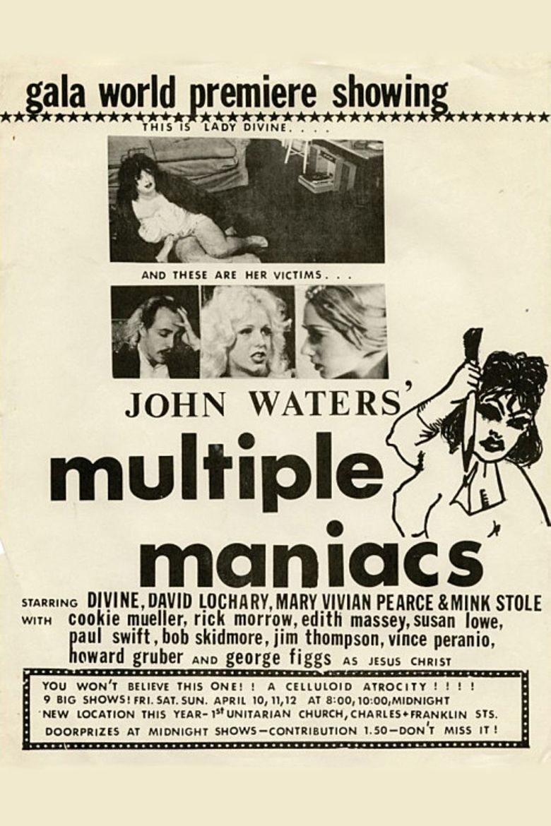 Multiple Maniacs movie poster
