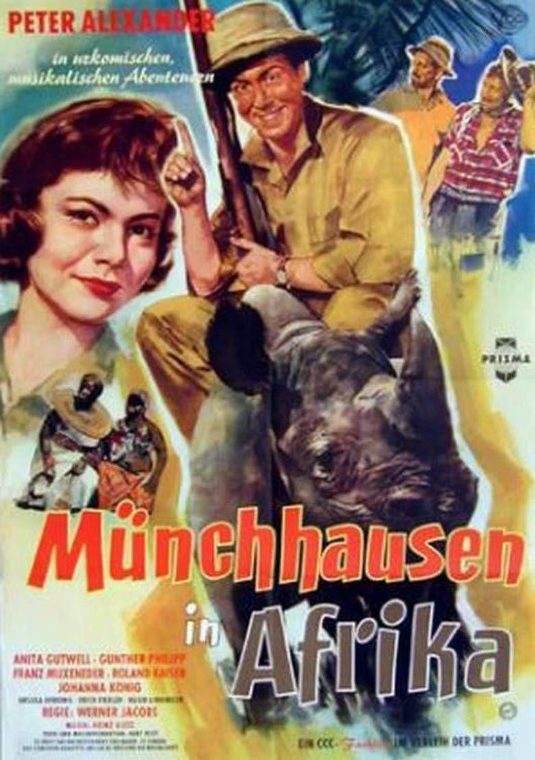 Munchhausen in Afrika movie poster
