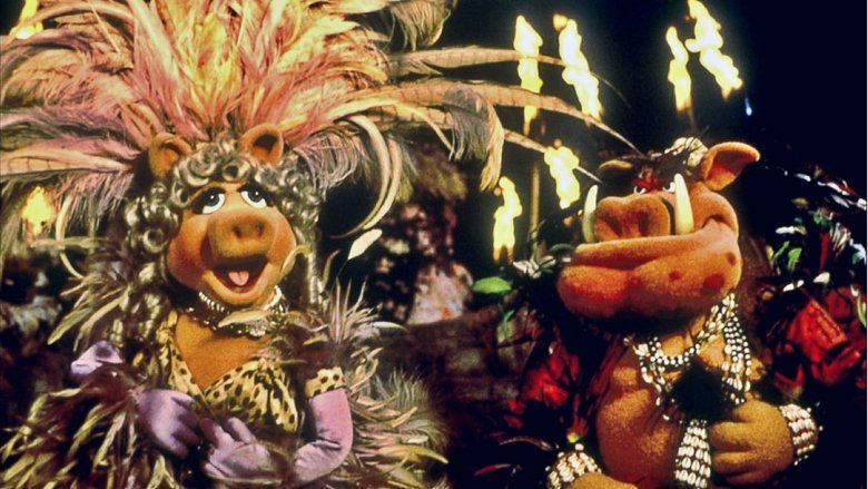 Muppet Treasure Island movie scenes