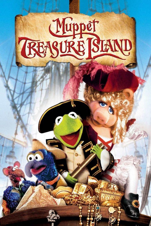 Muppet Treasure Island movie poster