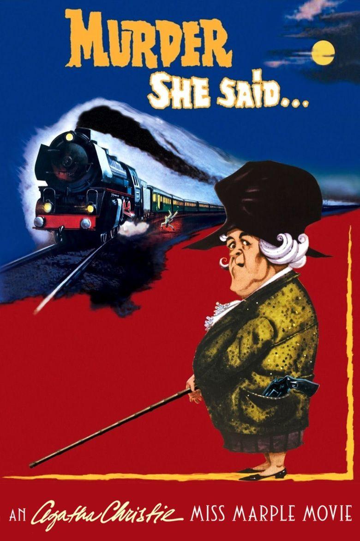 Murder, She Said movie poster