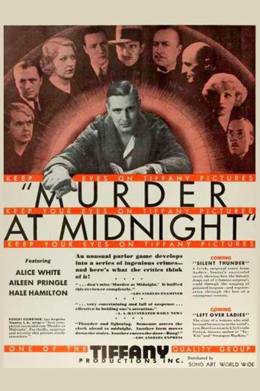 Murder at Midnight (1931 film) movie poster