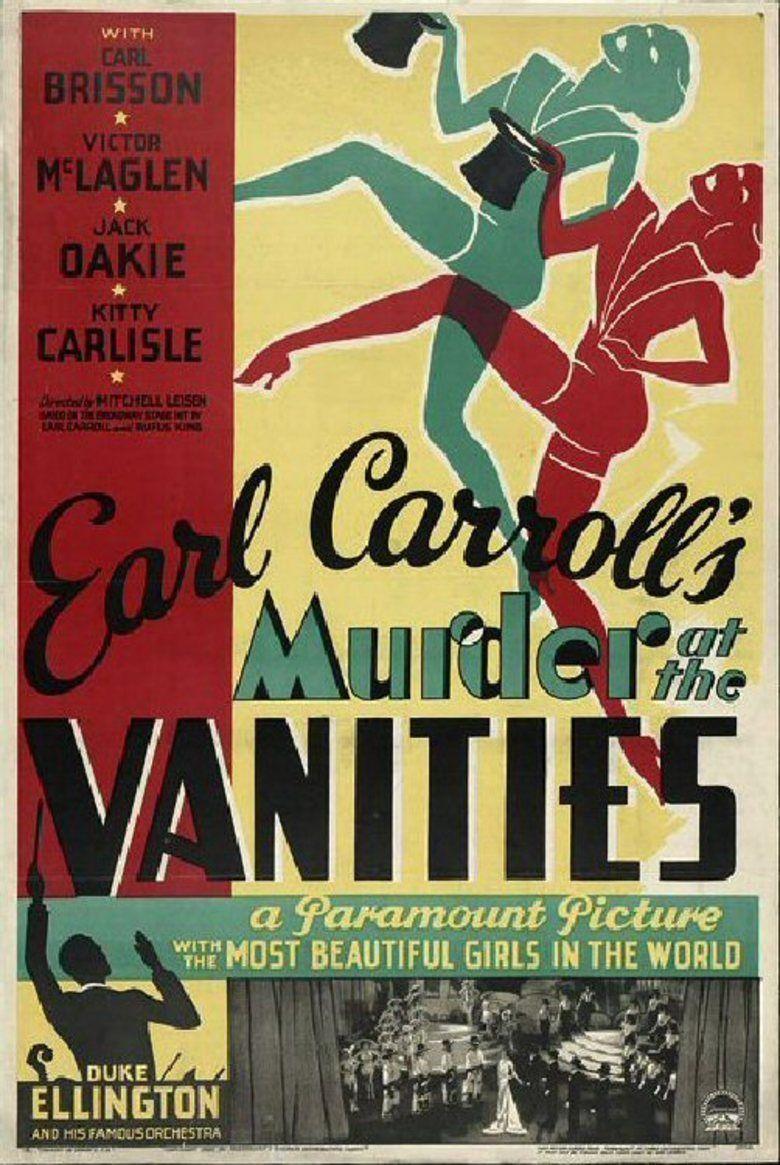 Murder at the Vanities movie poster