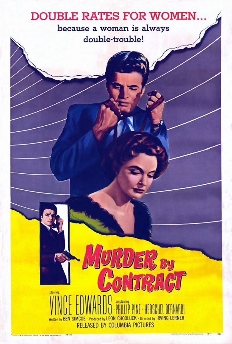 Murder by Contract movie poster