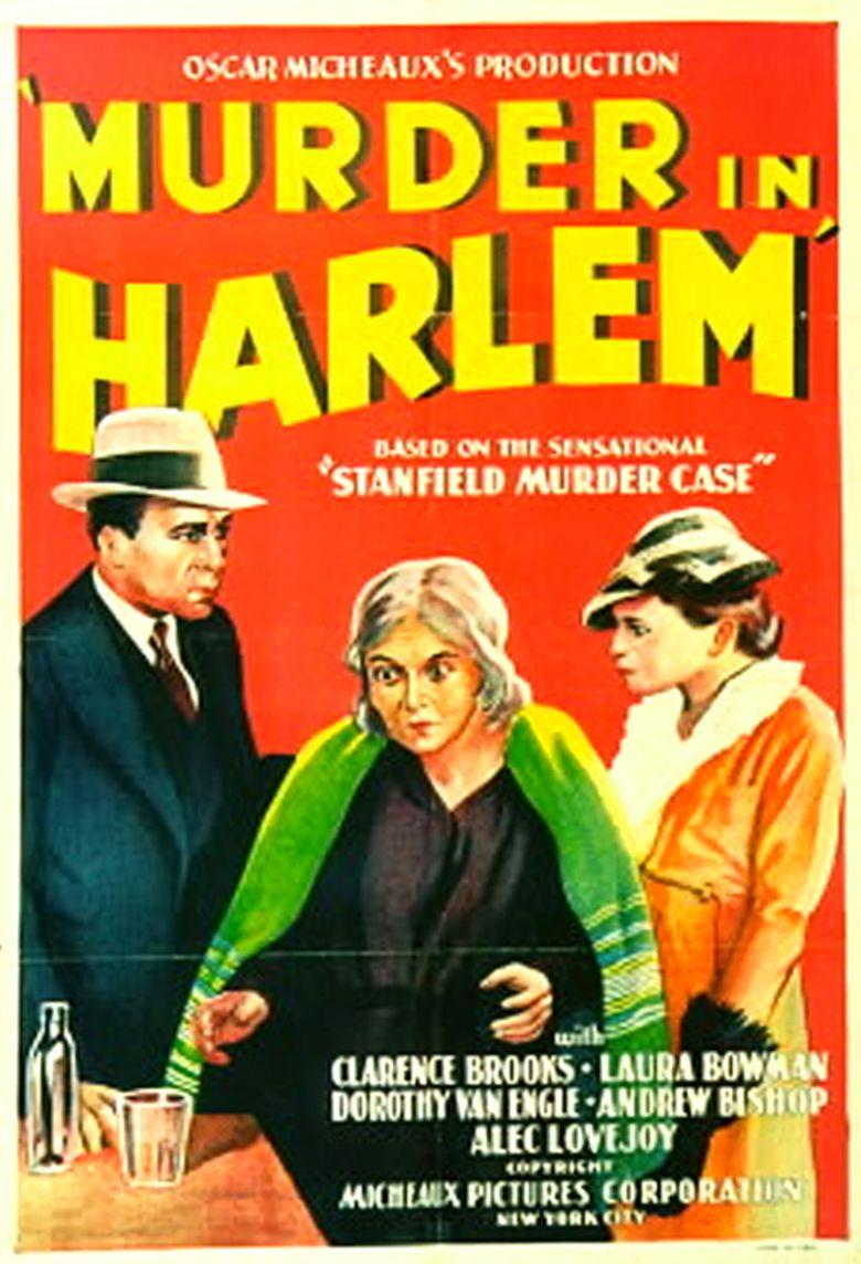 Murder in Harlem movie poster