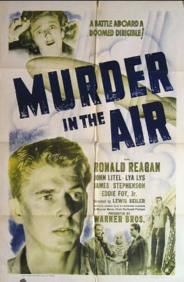Murder in the Air (film) movie poster