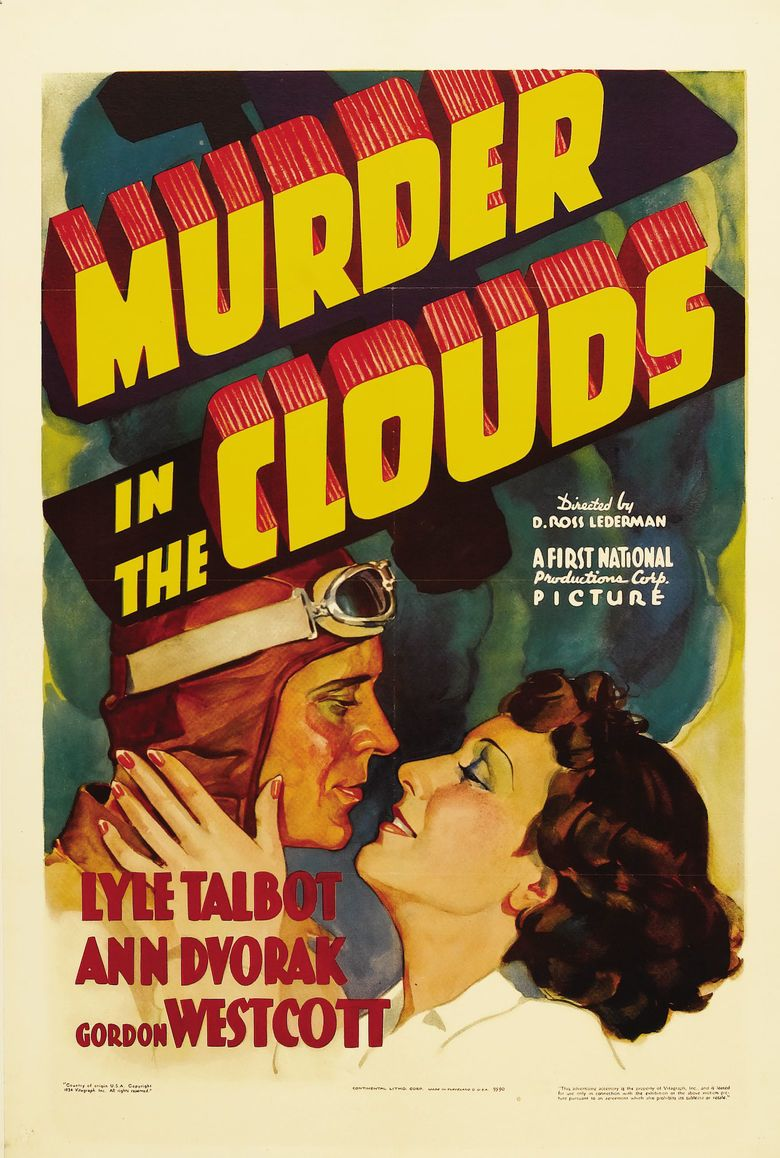 Murder in the Clouds movie poster