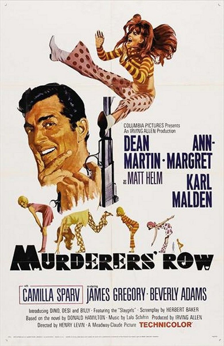 Murderers Row (film) movie poster