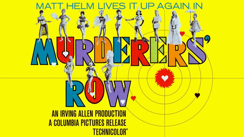 Murderers Row (film) movie scenes
