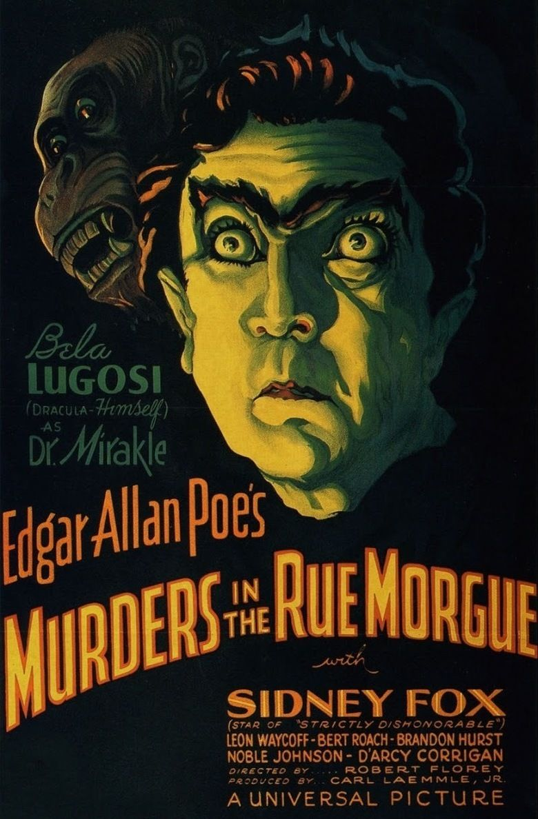 Murders in the Rue Morgue (1932 film) movie poster