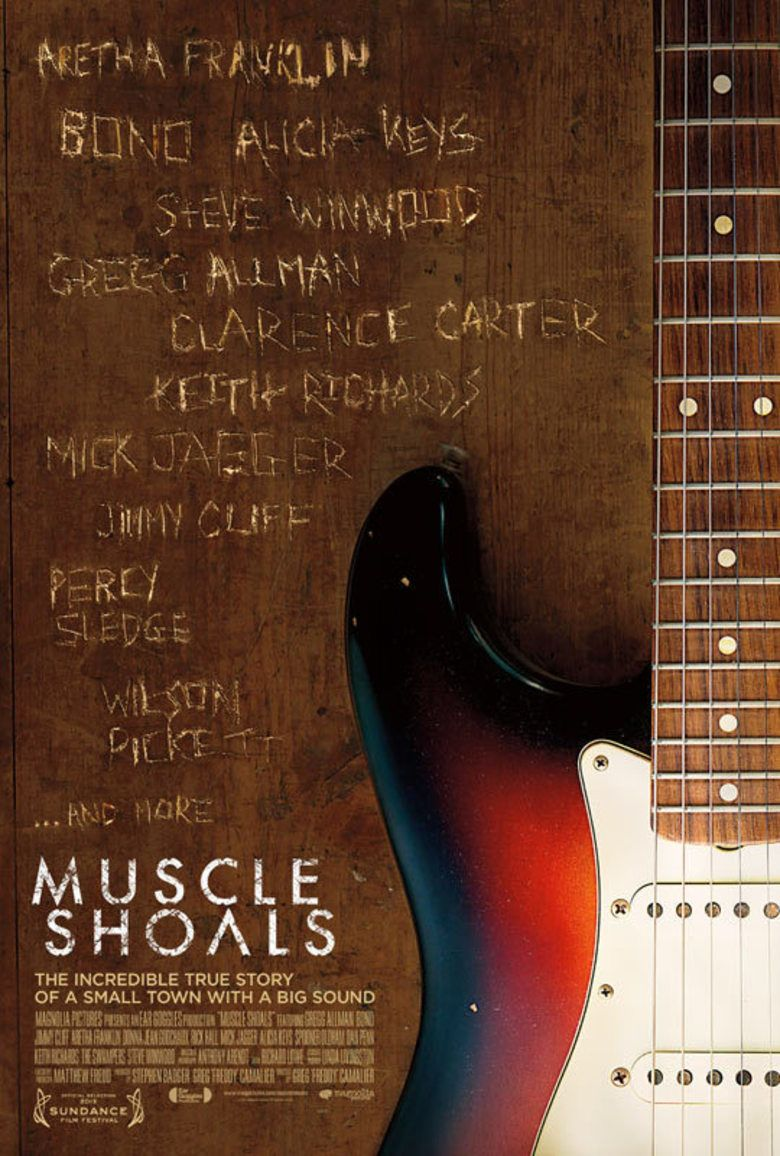 Muscle Shoals (film) movie poster